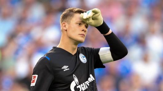 Schon vor seinem Abschied vom FC Schalke 04 muss Alexander Nübel einen Rückschlag wegstecken.