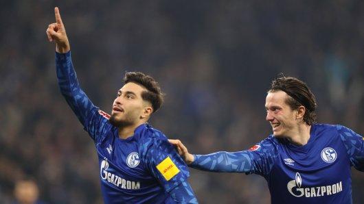 Der FC Schalke 04 triumphierte am Freitagabend gegen Gladbach.
