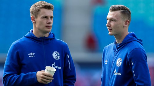 FC Schalke 04: Trainer David Wagner muss sich zwischen Alexander Nübel (li.) und Markus Schubert entscheiden. (Archivbild)