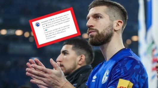 Die Fans des FC Schalke 04 feierte Matija Nastasic für seine emotionalen Worte nach dem Spiel gegen Leipzig.