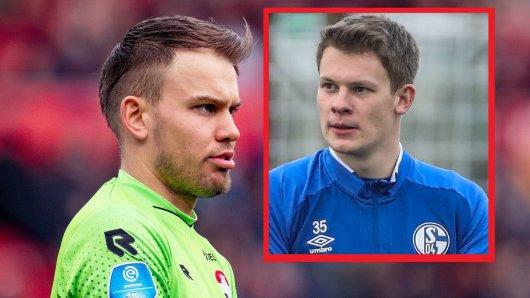 Timon Wellenreuther und Alexander Nübel waren beim FC Schalke 04 einst Teamkollegen.