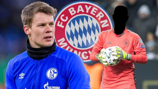 Ein Gerücht beim FC Bayern schockt Alexander Nübel vom FC Schalke 04!