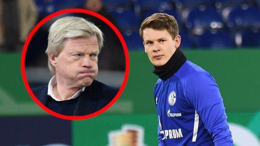 FC Schalke 04: Oliver Kahn hat sich zu Alexander Nübels Wechsel nach München geäußert.