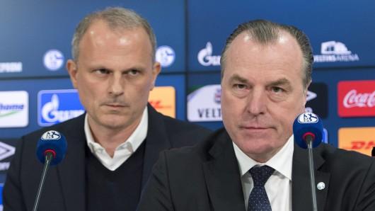 Der Vorstand des FC Schalke 04 trifft in der Krise radikale Maßnahmen.
