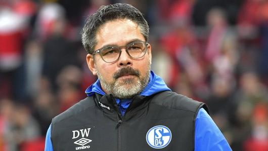 David Wagner denkt beim FC Schalke 04 derzeit nicht mehr an die Europa League.