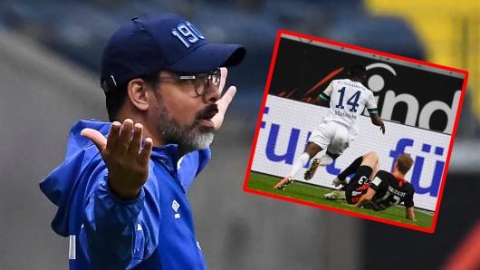 Beim FC Schalke 04 wird hitzig diskutiert – Grund ist diese Szene aus dem Frankfurt-Spiel.