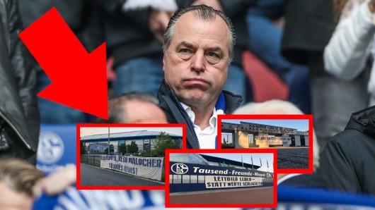 Die Fans der FC Schalke 04 fordern den Rücktritt von Clemens Tönnies.