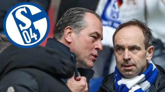 Clemens Tönnies und Alexander Jobst arbeiten fortan nicht mehr Seite an Seite beim FC Schalke 04.