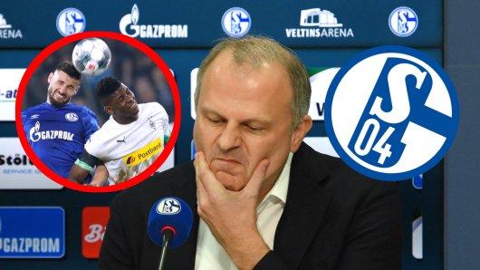 Jochen Schneider und Schalke bekommen eine kleine Gelspritze aus Mönchengladbach.