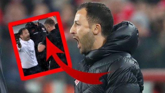 Domenico Tedesco, Ex-Coach des FC Schalke 04, hat sich in Russland eine unglaubliche Aktion geleistet.