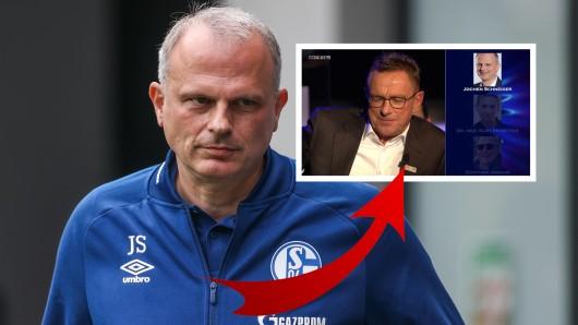 Schalke-Boss Jochen Schneider spielte Ralf Rangnicks Telefonjoker.