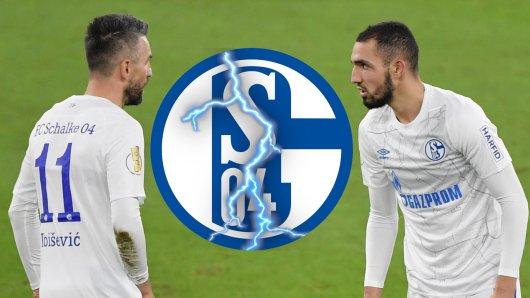 Schalke 04 trennt sich zum Jahresende von Vedad Ibisevic. Bentaleb muss spätestens im Sommer gehen.