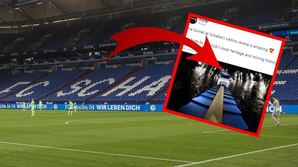 FC Schalke 04: Ein Detail im Spielertunnel ließ die Fans stutzen.
