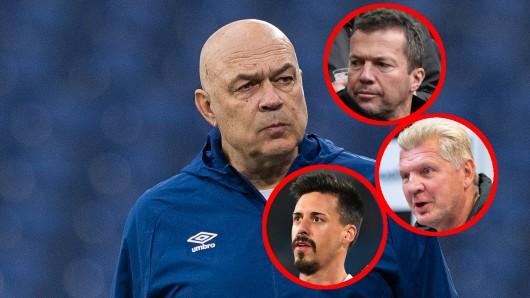 Christian Gross führte den FC Schalke 04 zum ersten Sieg seit 30 Spielen. Jetzt kriegen seine Kritiker ihr Fett weg.