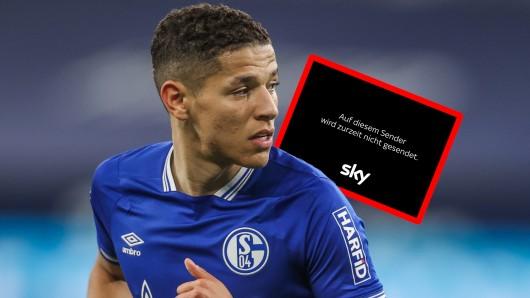 Sky sorgte bei Freiburg gegen Schalke mit einer Panne für Frust.