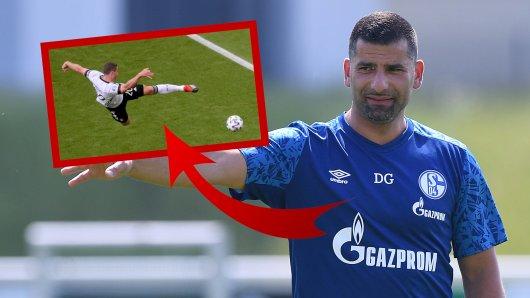 Das dürfte auch Dimitrios Grammozis bedauern: Der FC Schalke 04 hat eine riesige Chance verpasst.
