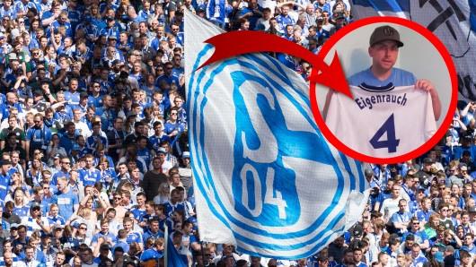 FC Schalke 04: Ein Fan hat ein sensationelles Unikat erobert.