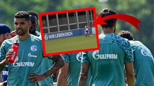 Beim FC Schalke 04 stand plötzlich Ex-Star Joel Matip auf dem Trainingsplatz.