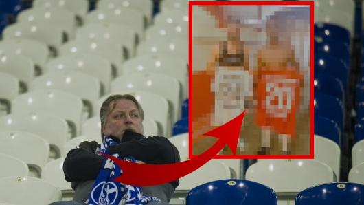 FC Schalke 04: Als die Fans dieses Bild sehen, werden sie traurig.