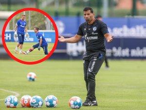 Beim FC Schalke 04 ist eine neue Diskussion entbrannt. Muss S04-Trainer Dimitrios Grammozis jetzt seinen Plan über den Haufen werfen?