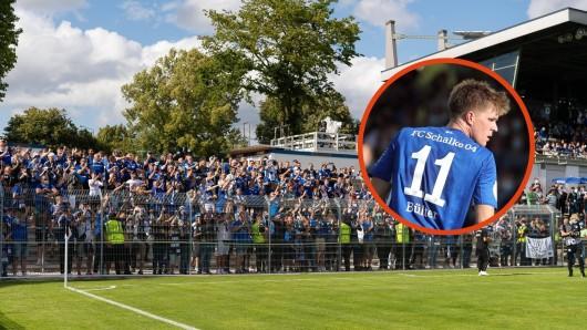 Im Schalke-Block kommt es zu unfassbaren Szenen.