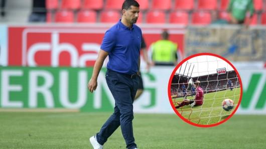 Muss Schalke-Trainer Dimitrios Grammozis bei einer Personalie seinen Plan umstellen?