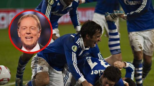 Die Fans des FC Schalke 04 erinnern sich an einen ganz besonderen Satz von ZDF-Legende Wolf-Dieter Poschmann.