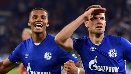 FC Schalke 04: Malick Thiaw (l.) und Simon Terodde sind enorm wichtig für S04.