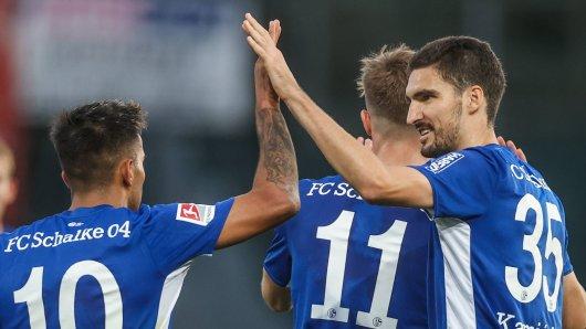 Hannover - Schalke: Kaminski beschert S04 einen Last-Minute-Sieg.