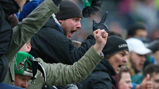 Bei Hannover – Schalke herrschte in der Heimkurve mächtig Frust (Archivbild).