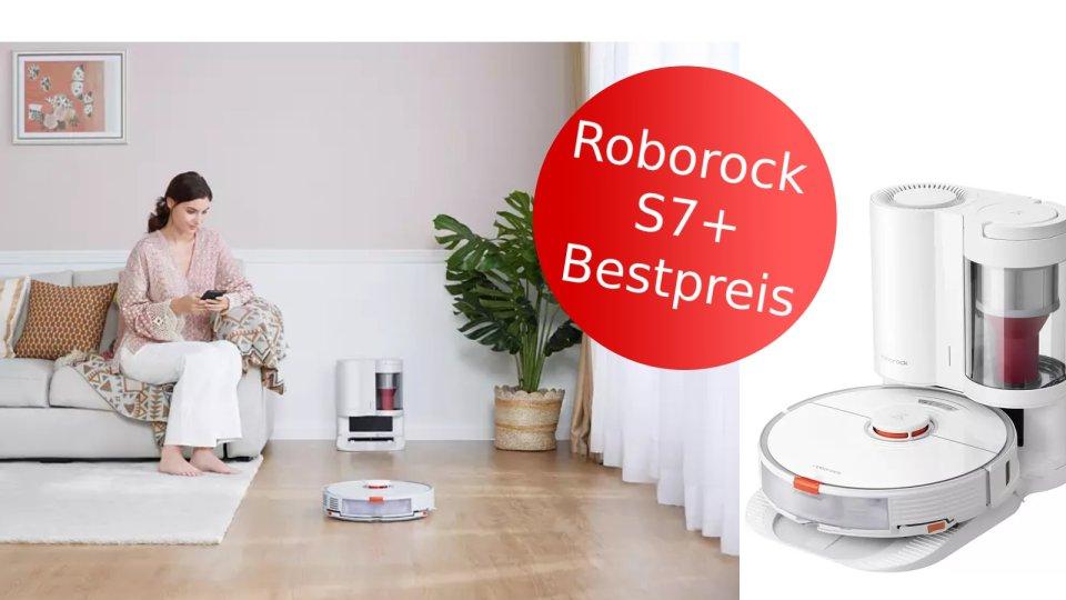 Der Saugroboter S7+ ist heute bei Media Markt zum Bestpreis erhältlich.