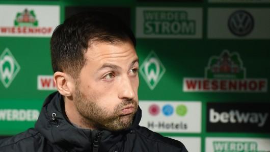 Schalke Trainer Domenico Tedesco hieß durch ein Versehen plötzlich Giovanni. (Symbolfoto)