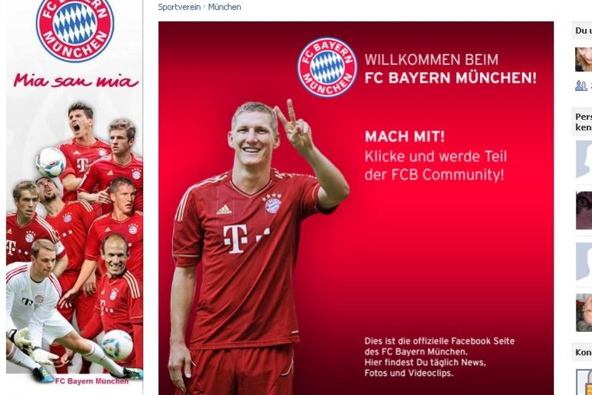 Der Fc Bayern München Startet Eigenes Facebook Derwestende
