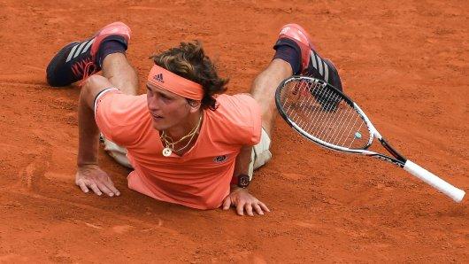 Alexander Zverev hatte bei den French Open in der 3. Runde seine liebe Müh und Not.