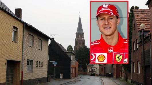 Michael Schumacher ist der berühmteste Einwohner in der Geschichte von Kerpen-Manheim.