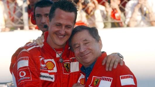 Michael Schumacher und Jean Todt arbeiteten zehn Jahre Seite an Seite.