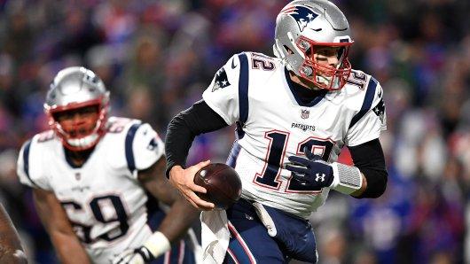 Die Der NFL-Klub New England Patriots um Tom Brady könnte eventuell bald in Deutschland spielen.