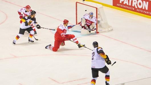 Eishockey WM 2019: Deutschland - Dänemark im Live-Ticker! Matthias Plachta brachte das DEB-Team mit 1:0 in Führung