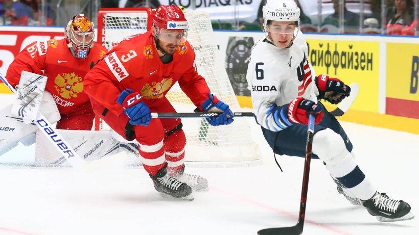 Eishockey Wm 2019 Russland Bezwingt Usa Schweiz Kanada Irre Derwesten De