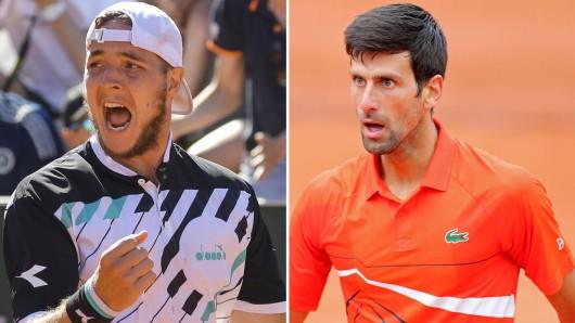 Jan-Lennard Struff - Novak Djokovic im Live-Ticker: Wer zieht ins Viertelfinale der French Open 2019 ein?