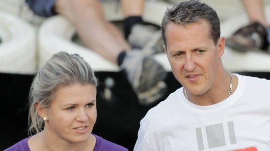 Michael Schumacher und seine Frau Corinna.