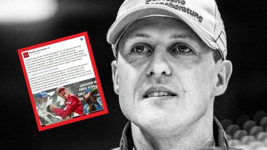 Michael Schumacher war im Dezember 2013 bei einem Skiunfall schlimm gestürzt. Seitdem befindet er sich in medizinischer Reha.