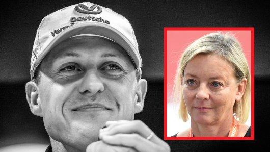 Michael Schumacher: Sabine Kehm arbeitet seit vielen Jahren als seine Managerin.