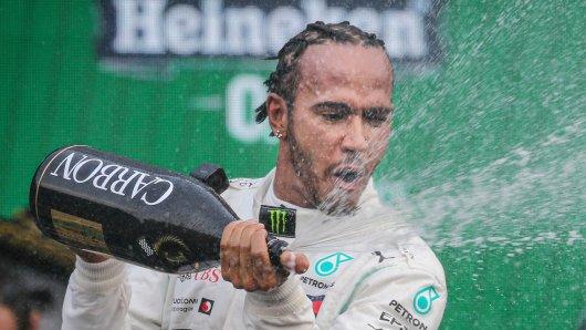 Formel 1 im Live-Ticker: Lewis Hamilton fährt in Richtung seines sechsten WM-Titels.