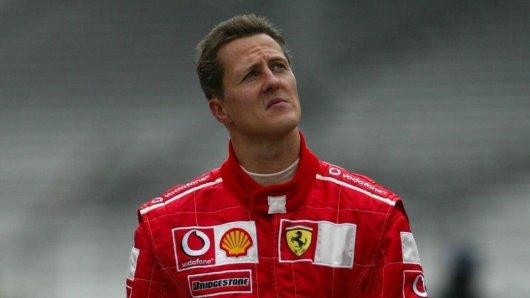 Michael Schumacher holte 2000 erstmals im Ferrari den WM-Titel.