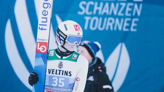 Pannen bei der Vierschanzentournee – Alexander Stöckl, Trainer von Garmisch-Sieger Markus Lindvik (Foto), wettert über die Zustände.