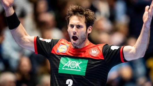 Bei der Handball-EM 2020 erlebte Kapitän Uwe Gensheimer mit Deutschland gegen Spanien eine irre Partie.