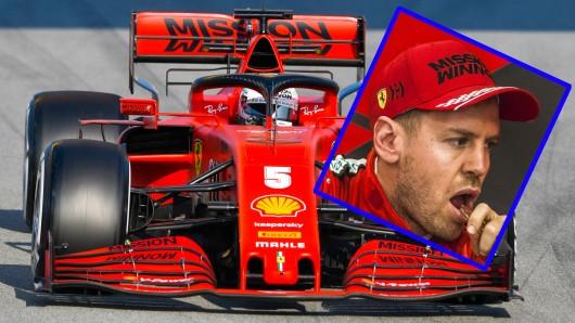 Für Sebastian Vettel läuft es in der Formel 1 alles andere als rund.
