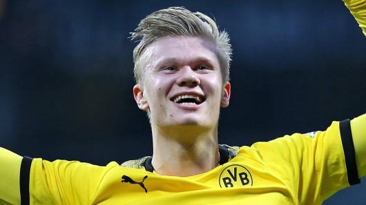 In der Bundesliga erzielte Erling Haaland in seinen ersten Spielen für Borussia Dortmund ein Tor nach dem anderen.