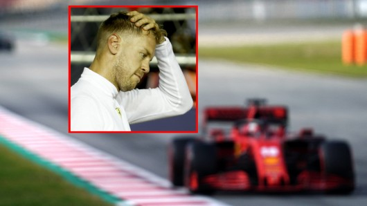 In der Formel 1 hat Ferrari-Pilot Sebastian Vettel die nächste Ohrfeige hinnehmen müssen.